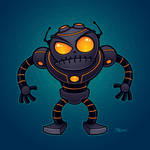 Angry Robot by fizzgig