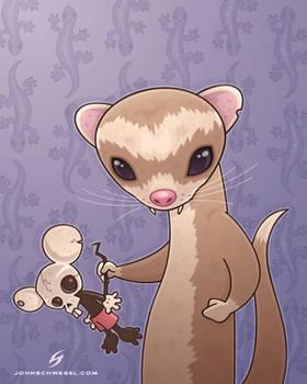 fizzy the ferret