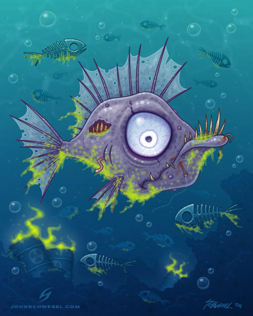 ZOMBIEFISH by fizzgig