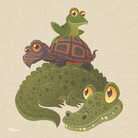 Swamp Squad by fizzgig