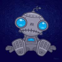 Sad Robot by fizzgig