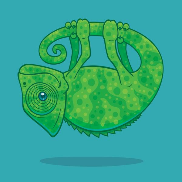 Magical Chameleon by fizzgig