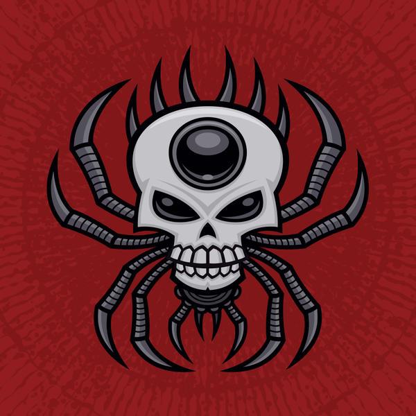 Skull Spider by fizzgig