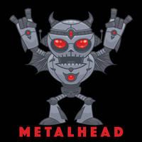 Metalhead - Heavy Metal Robot Devil