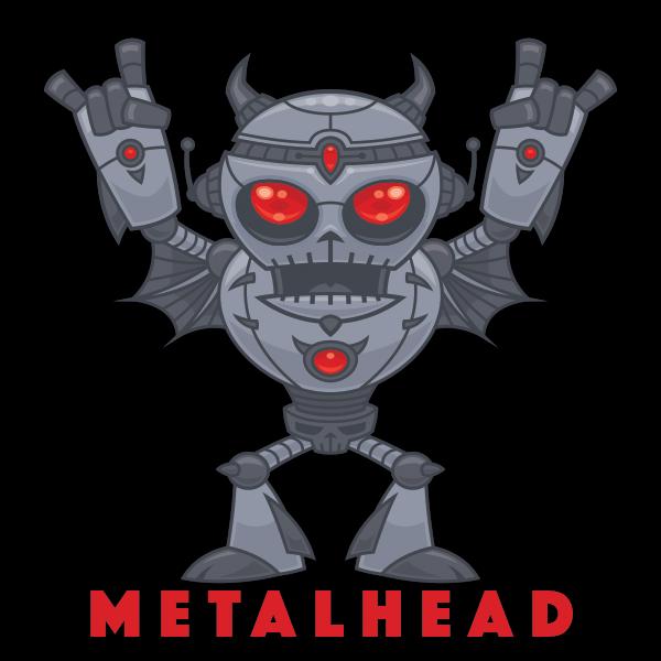 Metalhead - Heavy Metal Robot Devil by fizzgig