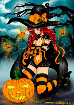 Halloween (Anime, Manga, Hexe/ Witch, Pumpkin)
