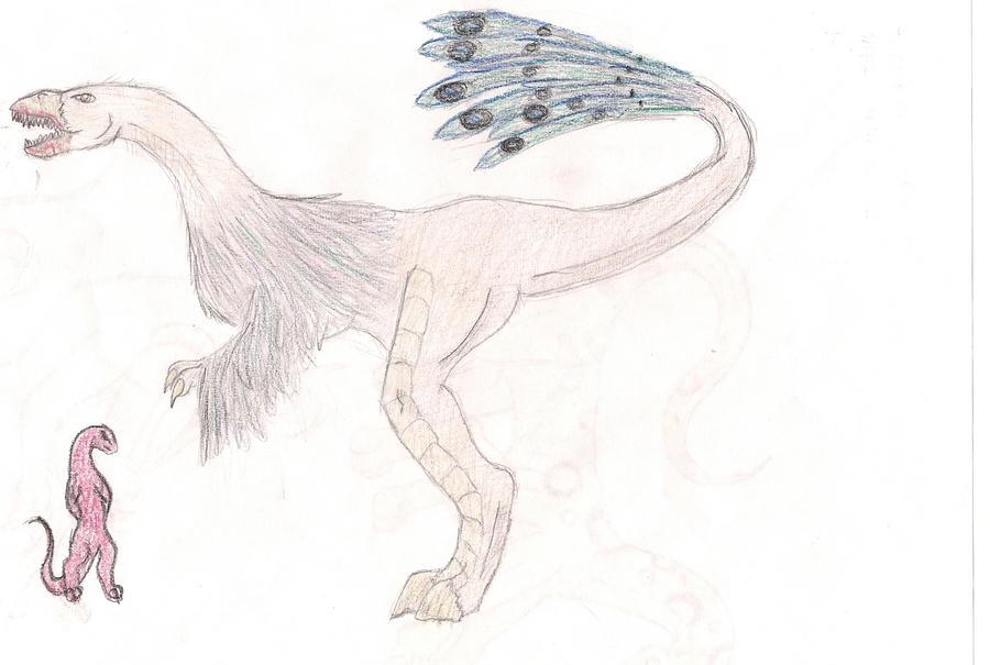 Ostrich T. Rex Peacock...