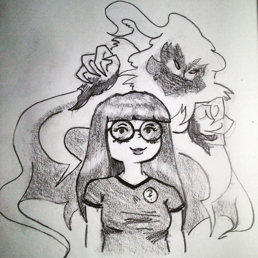 Emi and Someones Ghost Girl OC by DerekLeStrange