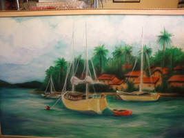 Redo on Boat Painting by BankyOne