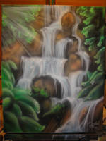 Sunshine waterfall by BankyOne