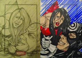 Marvel Elektra Death by BankyOne