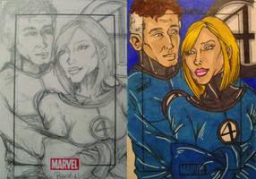 Marvel Fantastic Love by BankyOne