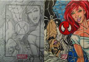 Marvel Love Web by BankyOne