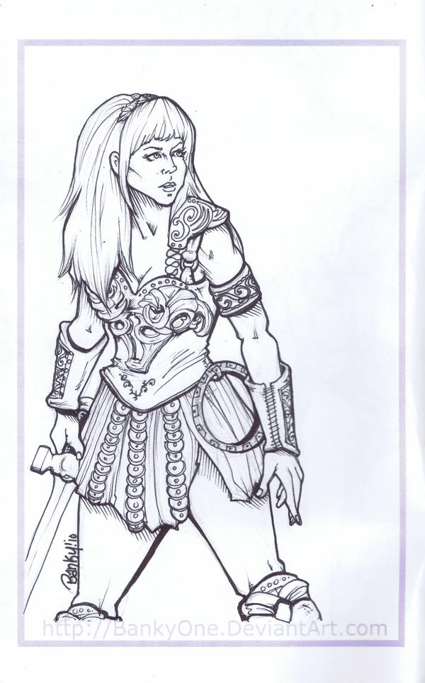 Xena Warrior Princess By BankyOne