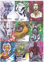 Star Wars Galaxy 7-8 by BankyOne