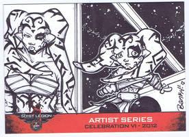 Celebration VI: 501st artist series-TALON