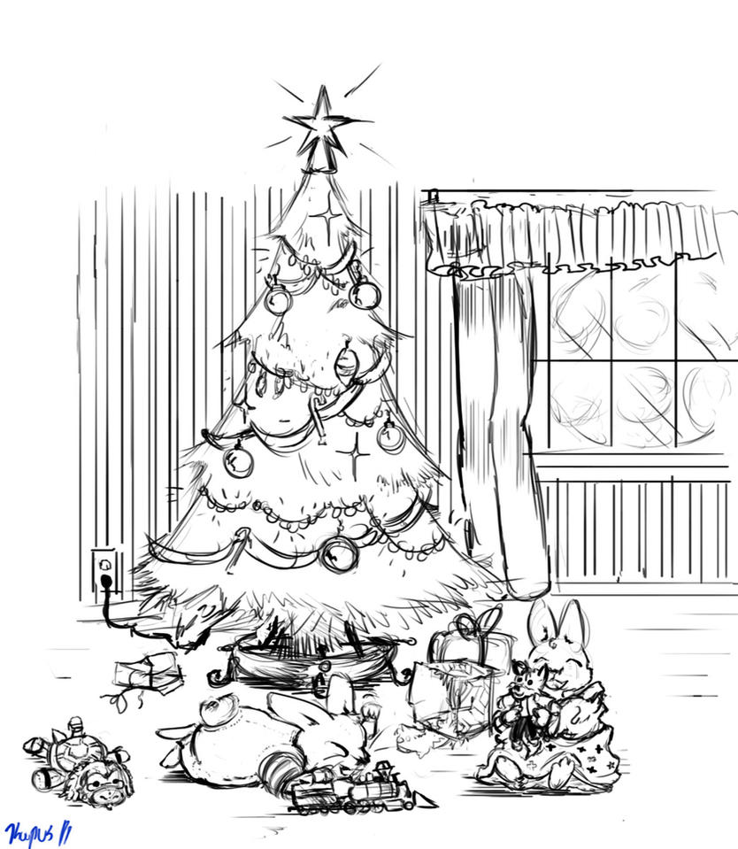 a max and regressed ruby christmas by cyberfox on deviantart