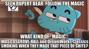 Gumball the Cartoon Critic on RB: FTM