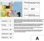 Cartoon Report Card: My Big Big Friend