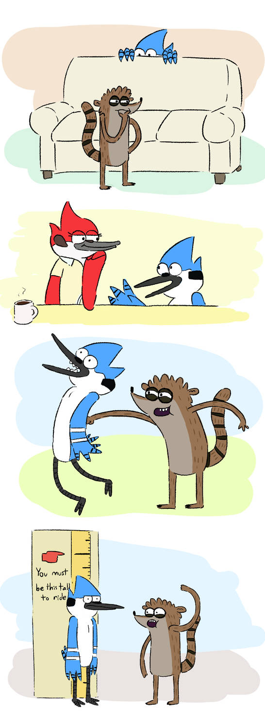 adventures of shortecai and rigby