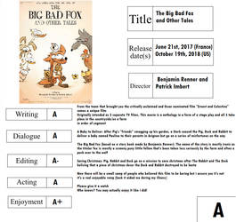 Movie Report Card: The Big Bad Fox and Other Tales