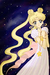 Princess Serenity at nightfall