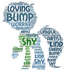 Word Cloud Commission: Blimp by queendagi