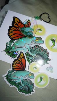 Flutter Frog Merch 1