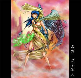 Woman Angel by Rikurahdan
