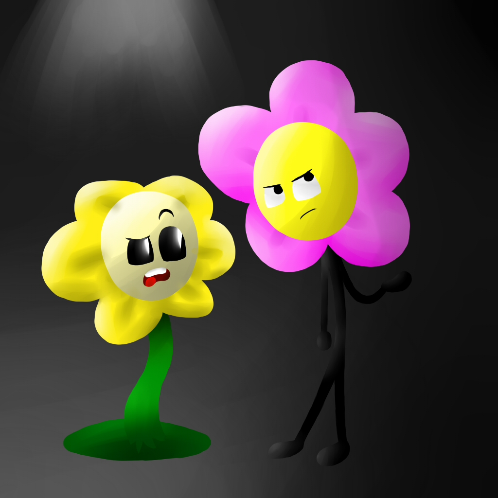 Flowey and Flower by X NamelessPerson X on DeviantArt