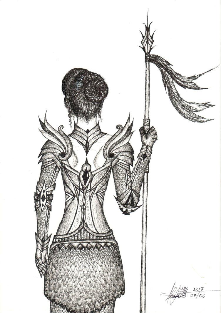 Draw it again - Para Bellum by Eollica