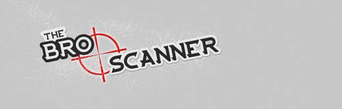 The Bro Scanner logo by Cyberplix