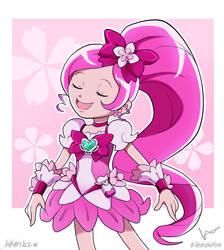 Cure Blossom  by HikaruNoMiraiW