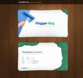 Flugger.com Business Cards by alivepixel