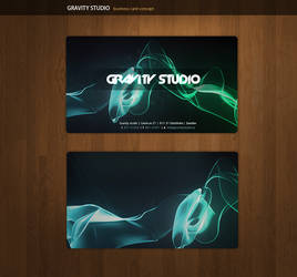 Gravity Business Cards