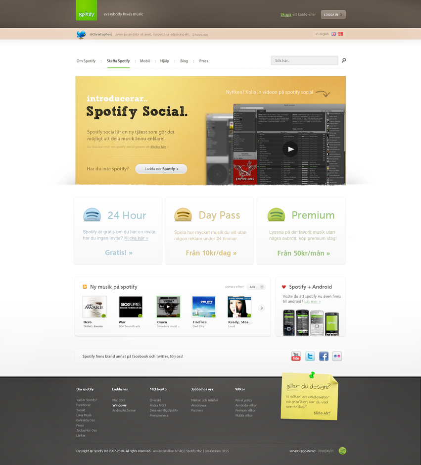 Spotify by alivepixel