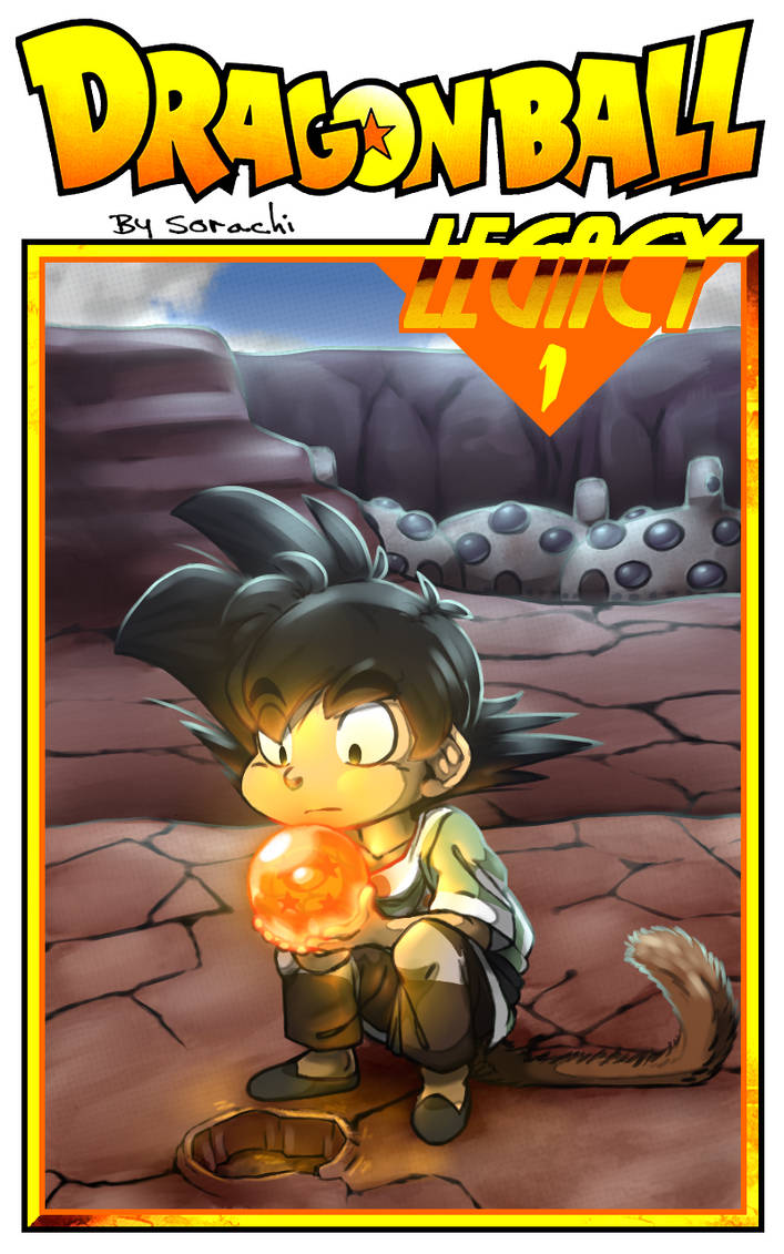 Dragon ball Legacy: Chapter 1 cover