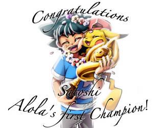 Ay congratulations .:Satoshi/Ash:.