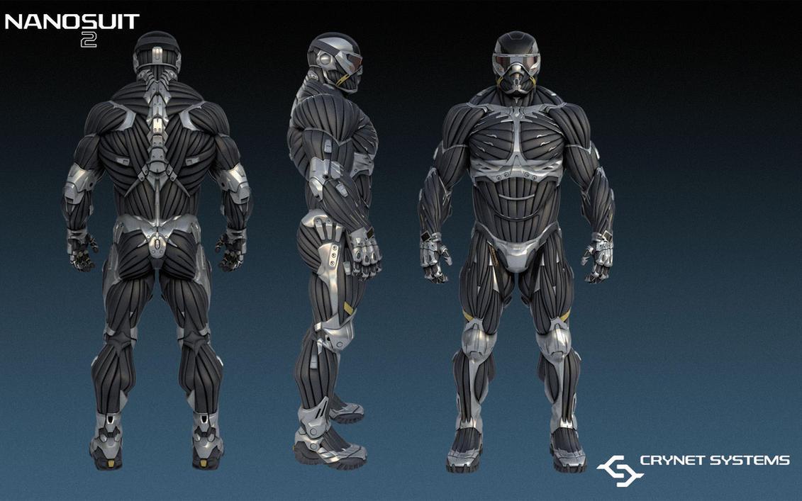 Crysis Nanosuit 2 By BradNightingale On DeviantArt