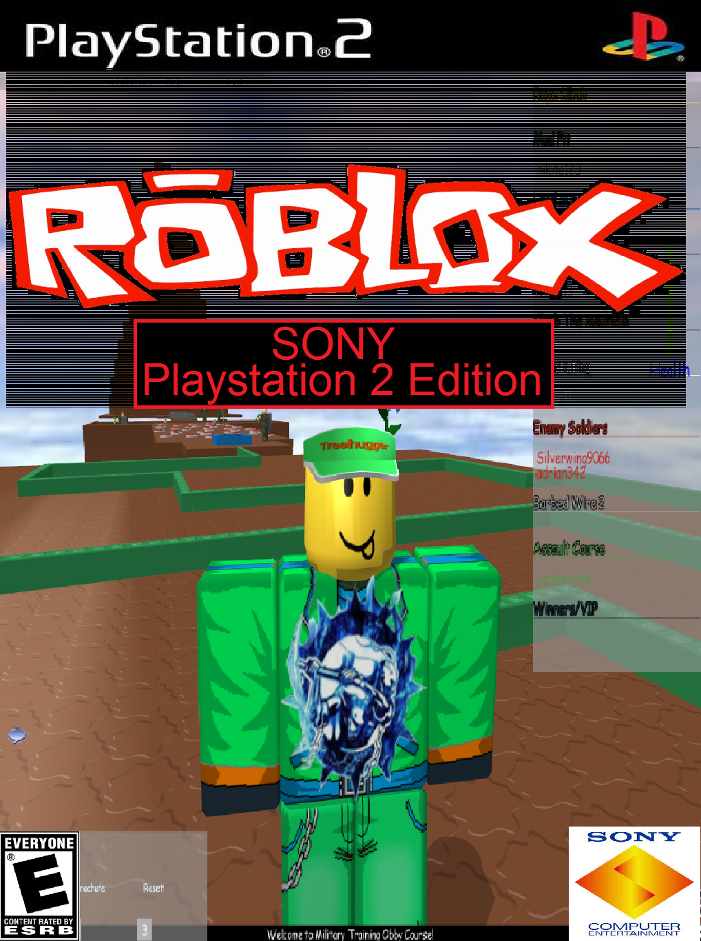 Roblox - Sony Playstation 2 Edition by djshby on DeviantArt