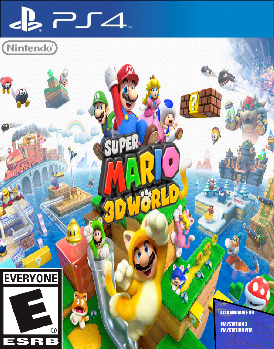 Mario Games For Ps3 : Super mario d world playstation ps by djshby on