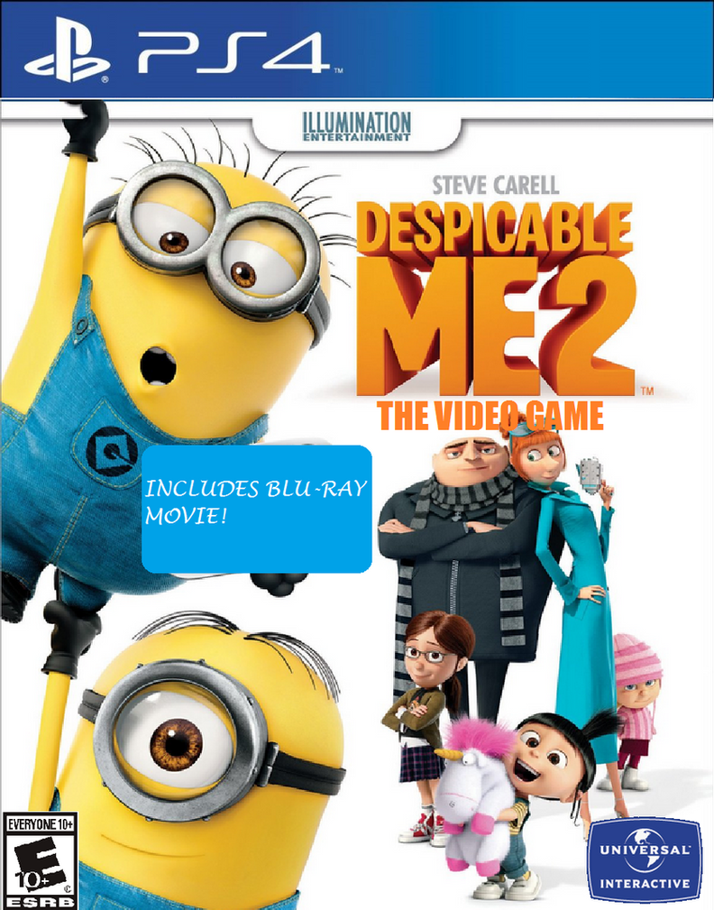 Despicable Me 2:The Video Game-PlayStation 4 (PS4) by ...