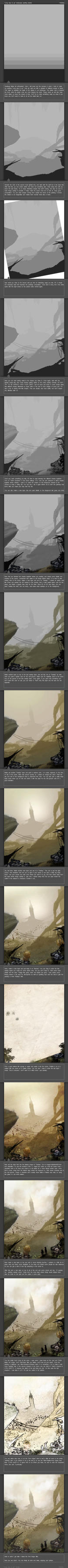 Environment Painting Tutorial by thefireis