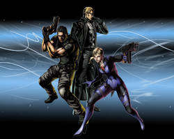 MvC RE5 Team by Dizzy612