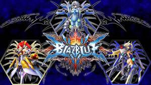Blazblue Chrono Phantasma - Girls with Swords