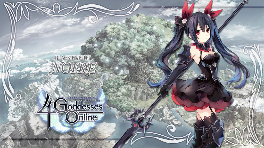 4 Goddesses Online Noire By Dizzy612 On Deviantart