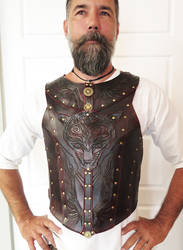 TribeTiger - Leather chest armor