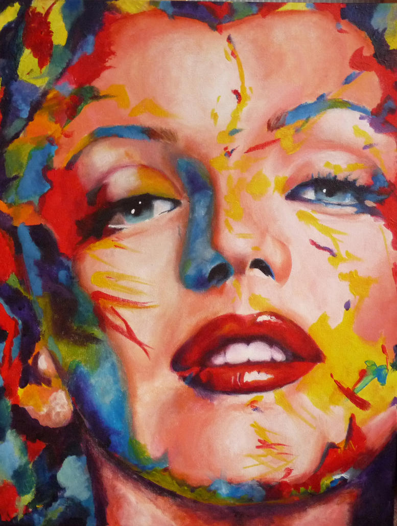 Marilyn Monroe by jessie145