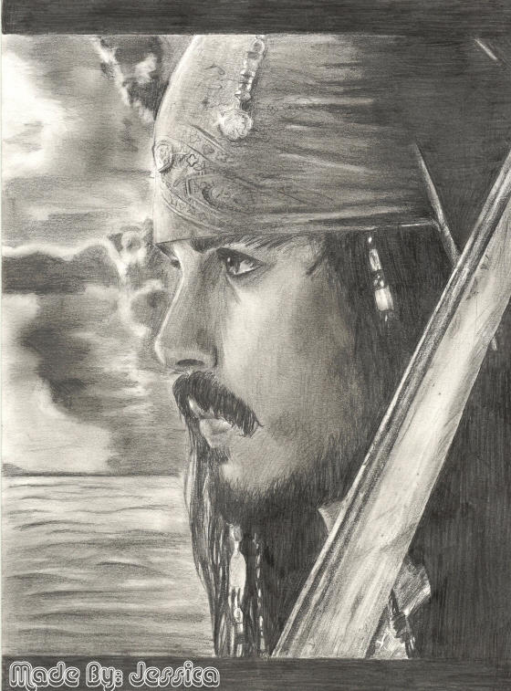 Jack Sparrow :johnny depp: by jessie145