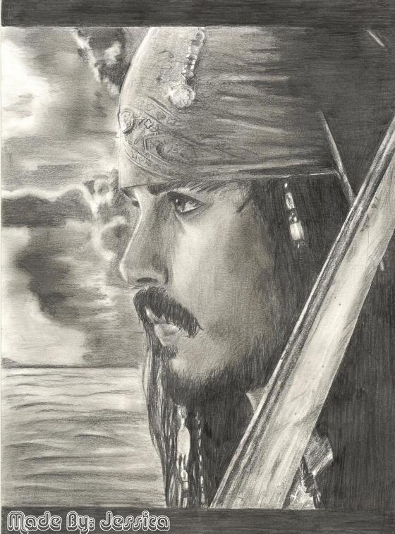 Jack Sparrow :johnny depp: by jessie145